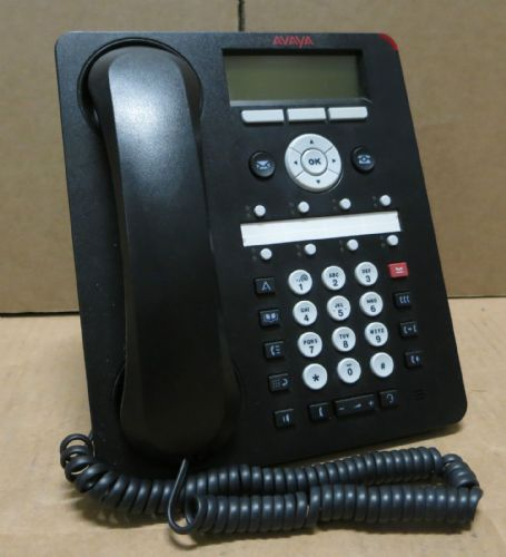 Avaya 1608-I One-X Business VoIP PoE Deskphone Telephone With Handset & Stand